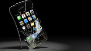 Smartphone rotto