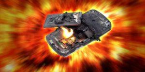 Esplosione Smartphone